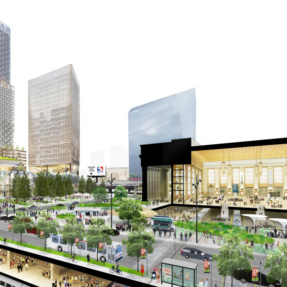 Rendering of Schuylkill Yards